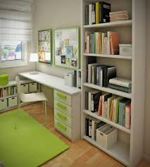 green wall office room house decor picture