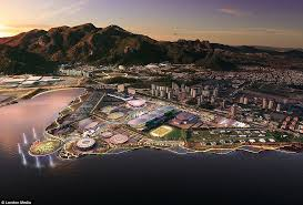 Olympics Venues The Rio De Janeiro 2016 Olympic Torch And Olympic Venues Update