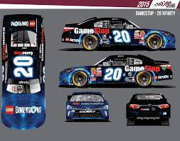 nascar race friday to feature a lego dimensions gamestop