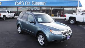 forester subaru 2009 2009 subaru forester x cold weather pack rare 5 speed awd used