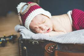 newborn aviation themed birth announcement photo tips