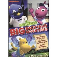 Backyard Adventures Reviews The Backyardigans Big Backyard Adventure Full Frame Walmart Com