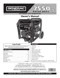 briggs u0026 stratton 13500 owner s manual