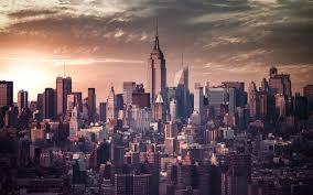 new york skyline drawing wallpaper