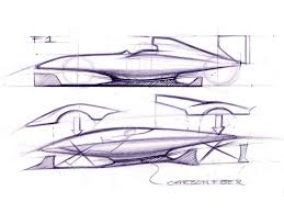 ferrari sketch design development ferrari laferrari car design news