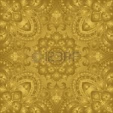 rich gold ornaments on a turquoise background royalty free