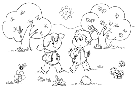 fall coloring pages for kids printable loving printable