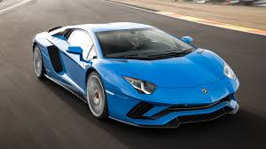 cars lamborghini blue 2018 lamborghini aventador s review top speed