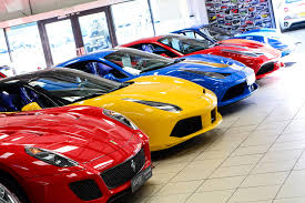 ferrari dealership inside supercars u0026 sports cars for sale worldwide supercar dealers