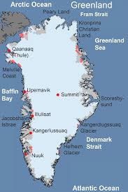 Surface Map Greenland Ice Sheet Today Surface Melt Data Presented By Nsidc