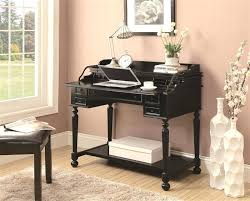 black writing desk mirrored writing desk furniture black writing