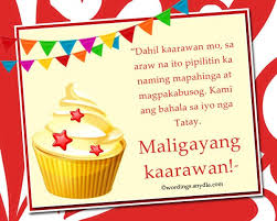 best 25 birthday message tagalog ideas on pinterest birthday