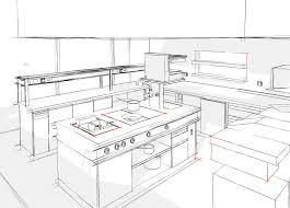 plan cuisine restaurant normes ati concept sa bureau dtudes pour cuisines professionnelles idées