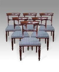 Antique Mahogany Dining Room Furniture Set Of 8 Antique Dining Chairs Furniture Pinterest Dining