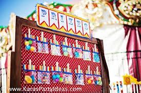 carnival birthday party kara s party ideas circus big top vintage carnival carousel