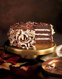 chocolate coconut layer cake recipe myrecipes