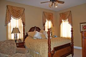curtains ideas swag jabot style curtains