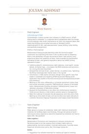 Sample Resume For Oil Field Worker Mwd Field Engineer Cover Letter