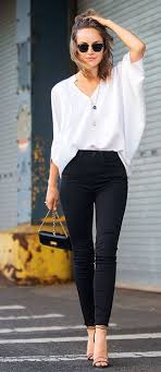 black and white blouses what will go well with a white blouse quora