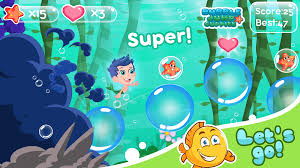 bubble adventure gupy sea android apps on google play