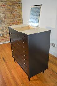 american of martinsville desk american of martinsville ebonized chest of drawers with mirror