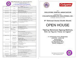 the philippine dental association together with colgate palmolive