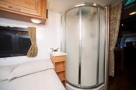 camper van with bathroom cruisin motorhomes campervan and hire review