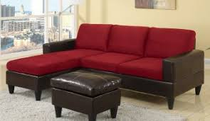 Red Sectional Sofas Modern Red Leather Sectional Sofa 44l6040 155745 Matte Magazine