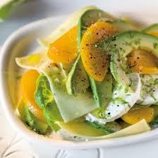 avocat cuisine salade fruitée à l avocat magazine avantages