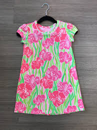 lilly pulitzer size 3 pink dress cool threads