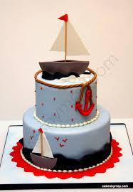 baby shower cake nautical u2013 diabetesmang info