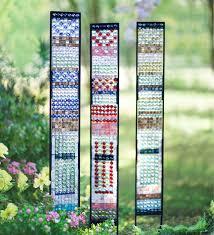 jeweled glass garden panes decorative garden accents p h