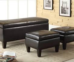 bench bedroom storage ottoman bench wonderful leather ottoman