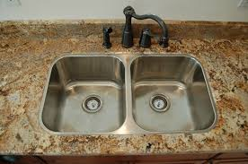 overmount sink on granite how to install top mount sink on granite countertops sink ideas