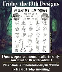 here u0027s where to get a friday the 13th tattoo deal in pittsburgh