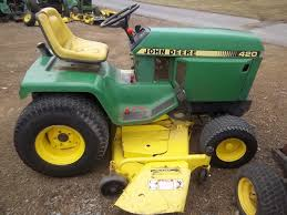 what is the best john deere 420 mower deck