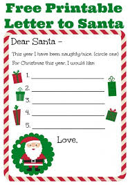 christmas letters from santa templates free 2017 best template