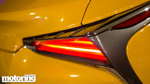 lexus yellow light on dashboard 2017 lexus lc500h reviewmotoring middle east car news reviews