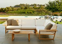 Lineal Corner Garden Sofa Contemporary Garden Furniture At Go Modern - Contemporary furniture sofas