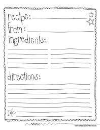 free printable recipe pages template recipe book gidiye redformapolitica co