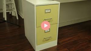 refurbish file cabinet with fabric checking in with chelsea