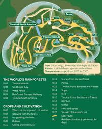 Biome World Map by Rainforest Biome World U0027s Largest Indoor Rainforest Eden Project
