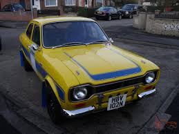 escort mk1 stage rally car stunning condition rs2000 mexico twin cam