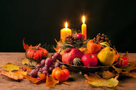 thanksgiving still stock photo image of candle 17078238