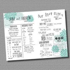 best wedding programs best wedding program fans products on wanelo