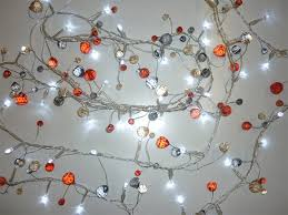 the sharper edge gifts gadgets 50 led beaded garland lights