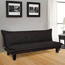 modern futon sofa bed amazon com best choice products convertible modern futon couch and