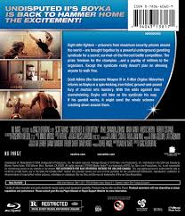 the redemption manual undisputed iii redemption blu ray