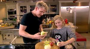 gordon ramsay cuisine en famille nouvelle émission cuisine de tilly ramsay fille de gordon ramsay