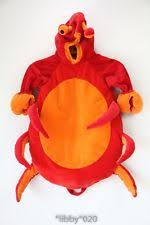 Crab Halloween Costume Collectible Infant U0026 Toddler Halloween Costumes 1991 Ebay